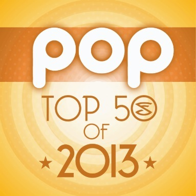'Top 50 Pop Songs of 2013' Station  on AOL Radio